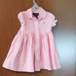 12 mos Pink Ralph Lauren dress